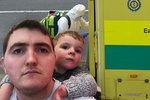 Táta dvou dětí byl zdravý jako řípa: Pár dní po narození synka náhle zemřel