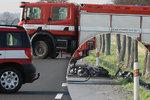 Tragická nehoda u Poděbrad: O život přišli dva motorkáři