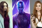Sexy chameleon Karen Gillanová: Její filmy vydělávají miliardy!