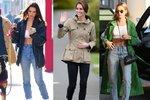 Často a rády se spoléháme na osvědčené kombinace. A ty nejlepší jsou většinou i ty nejjednodušší. Jaké tenisky a džíny nosí slavné ženy nejraději? Tohle jsou páry, na které se spoléhají!