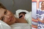 Daniela Peštová (49) se pochlubila fotkou krátce po porodu! Kdo je rozkošný andílek u jejího prsu?