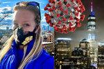 """Češka Radka v epicentru pandemie: V New Yorku šije roušky, Američané jí """"trhají ruce"""""""