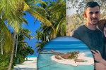 Novomanželům se protáhly líbánky: Kvůli koronaviru uvázli v tropickém ráji!