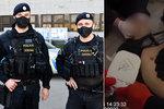 VIDEO: Dramatický boj o vteřiny! Muže zasáhl elektrický proud, takhle mu policisté zachránili život