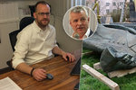 Diplomat Kolář přiznal strach o syna kvůli Koněvovi. Zmínil výhrůžky i Skripala