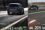 205 km/h na obchvatu, 140 v obci! Řidiči zneužívají slabý provoz a jezdí jako šílenci