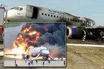 Šokující záběry leteckého neštěstí s 41 oběťmi: Plameny šlehaly desítky metrů vysoko!
