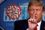 """Trumpova """"léčba"""" světlem a dezinfekcí.  Prezident potěšil konspirátory, vědci se """"chytají za hlavu"""""""