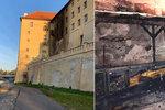Na zámku v Poděbradech vypukl požár! Napáchal statisícové škody