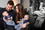 Maminka porodila dvojčátka lehčí než plechovka fazolí: S jedním synem se musela rozloučit