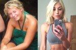 Mladá Britka vydělává miliony na sociálních sítích. Věřili byste, že tahle fitnesska měla problémy s váhou?