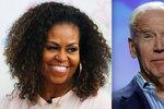 Návrat Obamových do Bílého domu? Američané chtějí bývalou první dámu za viceprezidentku
