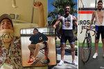 Po pádu na závodě ochrnul! Z profesionálního cyklisty se stal raperem