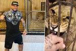 Milovník zvířat Vémola v cirkuse schytal kritiku za lvy: Fanoušky ale drsně setřel!