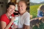 Marta Jandová ukázala sestru (7) i dceru (7): Tohle je teta a její neteř!