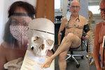 Lékaři se svlékli pro dobrou věc: Bez ochranných pomůcek jsme jako nazí!