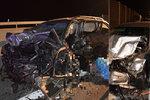 Řidič oktávky to na dálnici otočil do protisměru: Při hromadné nehodě zemřeli dva lidé!