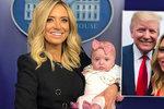 """Blondýna s roztomilou dcerou mluví nově za Trumpa. """"Nikdy vám nebudu lhát,"""" slíbila"""