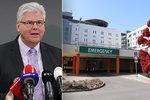 """Exministr Ludvík (57) leží ve """"své"""" nemocnici: Šéf Motola má covid!"""