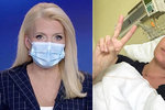 Blond hvězda zpravodajství bojuje s rakovinou! Dojemné foto z onkologie