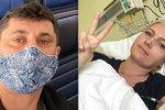 Rakovina blond hvězdy zpravodajství: Nádory u srdce a na plicích! Jak zareagoval manžel?