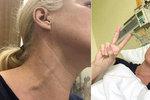 Blond hvězda zpravodajství zveřejnila děsivý příznak rakoviny! Táta jí zachránil život