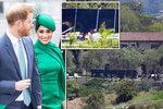 Nedobytná pevnost Harryho a Meghan: Proti fanouškům a fotografům se drsně obrnili!