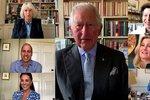 Královská rodina vzdala hold zdravotníkům: Alžběta II. bez tváře a vyčerpaná Kate!