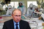 Putin zklamal lékaře. Ze slibované odměny 28 tisíc dostali dvě stovky, někteří ani to ne