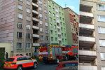 Požár oleje v Bruntálu způsobil velkou škodu: Desítka obyvatel bytů musela pryč!