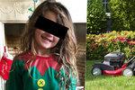 Holčička (5) spadla dědovi pod sekačku: Její nožička letěla devět metrů vzduchem