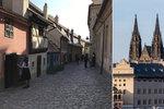 Pražský hrad včetně Zlaté uličky se otevírá. Ta ale bude zřejmě poloprázdná. Proč?
