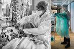Nákazy se nebála: Známá fotografka fotila v pražské nemocnici pacienty s koronavirem