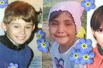Smutné tablo policejního pátrání: Míša, Ivana, Honzík a další děti se domů nikdy nevrátily