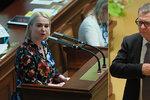 """""""Chová se jak nácek!"""" obula se Černochová do Zaorálka kvůli Izraeli. Skandál, hřímá ministr"""