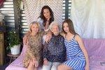 4 ženy a 3 generace! Žilkové i Agátě ale slávu ukradla babička Olga (96)