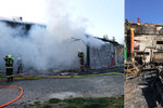 Rodina přišla kvůli požáru o střechu nad hlavou i živobytí: Pomáhají jí přátelé, známí i lidé z facebooku