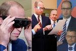 Šokující přiznání prince Williama: Jsem skoro slepý!