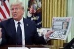 Trump jde po krku Twitteru i Facebooku. Sociální sítě chce regulovat nebo rovnou zavřít