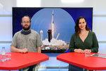 Vysílali jsme: Expert o kosmické lodi Crew Dragon i budoucnosti letů do vesmíru