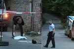 Násilí v Milovicích: Po hádce zde došlo k pobodání, na místo letěl vrtulník
