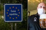 """Němci už """"stepují"""" na hranicích. Do Česka se těší za levnými cigaretami a alkoholem"""