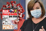 Vysílali jsme: Ministryně Schillerová o finanční pomoci během pandemie. Co bude dál?