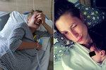 Novopečená máma Lenka Zahradnická: Proč měla během porodu brutální záchvat smíchu?!