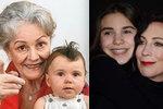 Hvězda Modrého kódu Frejová: Dojemné fotky s maminkou Galatíkovou (†69)!