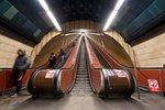 """Obří modernizace stanice na """"Jiřáku""""! Vymění se i eskalátory, metro v ní deset měsíců nezastaví"""