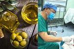 Místo sálu kuchyně: Pacientka (60) připravila během operace mozku 60 plněných oliv