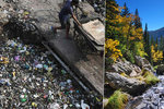 """Mikroplasty """"prší"""" do národních parků, ukázala studie. Zamořené jsou i Pyreneje"""