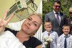 Blond hvězda zpravodajství bojující s rakovinou: Razantní změna kvůli synům!