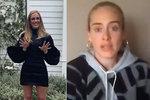 Vyhublá Adele v unikátním videu: Takhle teď vypadá! Fanoušci se zhrozili